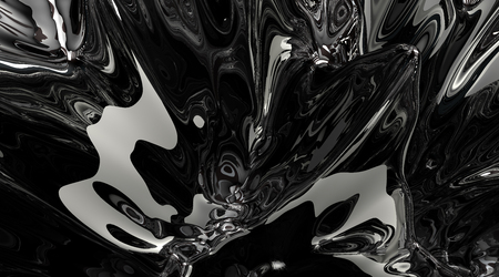 chrome: Abstract wave
