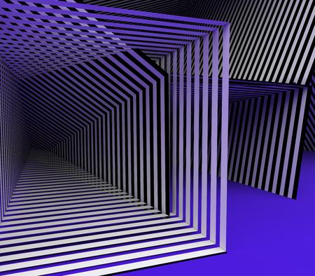 Abstract stripes Stockfoto - 104555099