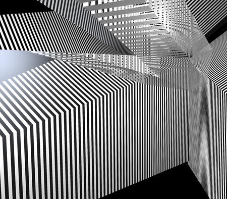 Abstract stripes Stockfoto - 104555109