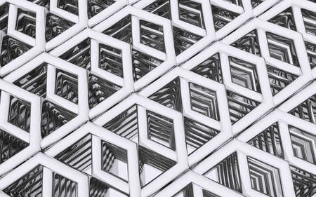abstract construction Stockfoto