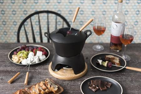 Chocolate hot pot