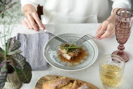 fish steak Stock Photo