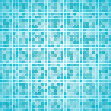 piastrelle del bagno al piano vettore sfondo di colore blu