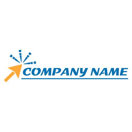 Computer logo créatif, illustration vectorielle eps 10 Logo