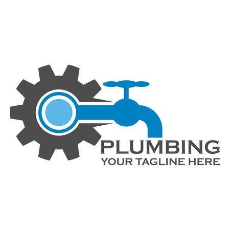 plumb: Pumbing service logo template design eps 10
