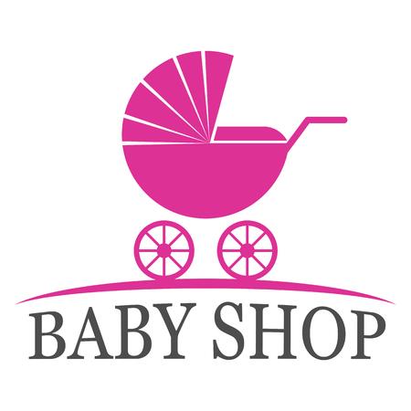 kiddies: Baby shop logo design