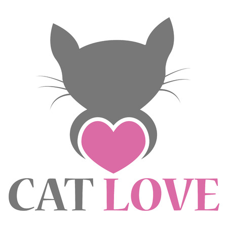 Pet love logo design