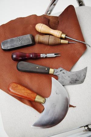 crafting: herramientas de artesan�a de cuero