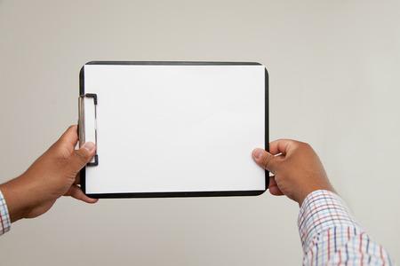blotter: blotter held by dunkelh�utigem. Paper is jammed and empty.