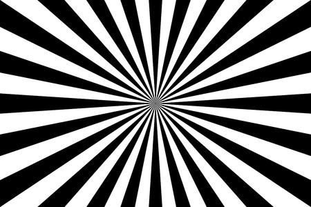 sunburst: sunburst illustration of retro symmetric rays in black.