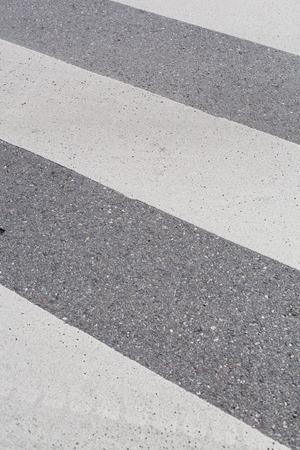 zebra crossing: zebra crossing on a concrete road