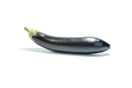 Healthy food. eggplant vegetables on a light background Imagens
