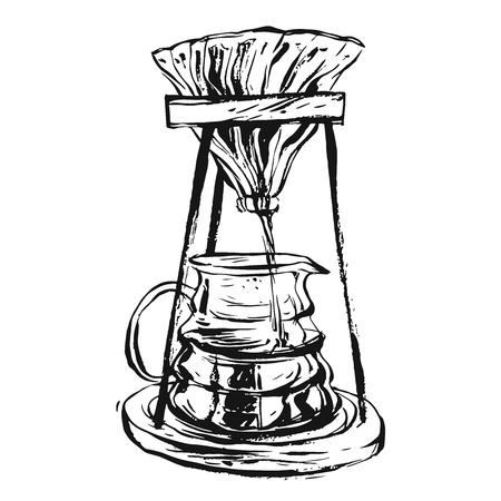 Coffee Maker illustration Illustration