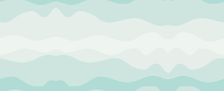 Hand drawn vector abstract minimalistic seamless pattern with ocean and sea waves in blue colors