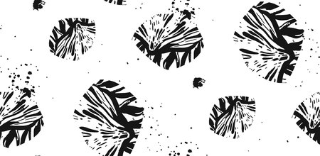 Hand drawn abstract vector
