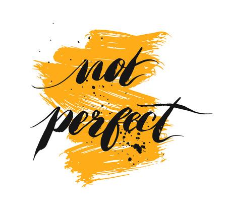 完璧ではない - 手描き文字のフレーズ、