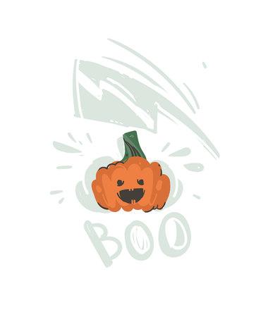 Halloween pumpkin icon. Иллюстрация