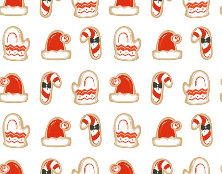 Christmas abstract pattern design. Illustration