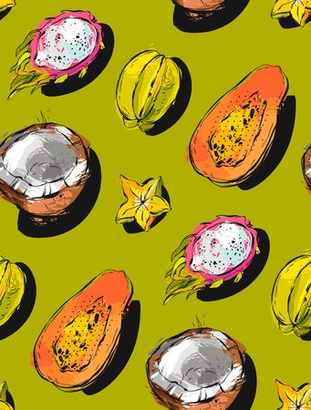 Fruits pattern.