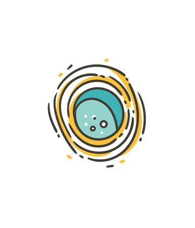 Simple galaxy icon