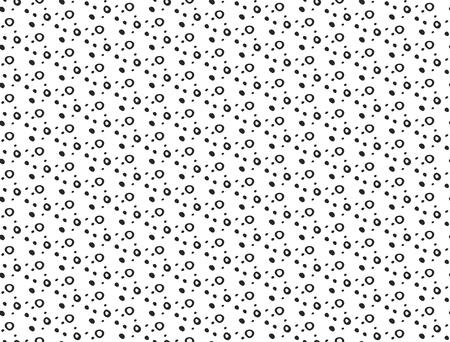Casual polka dot texture Stock Vector - 100943541