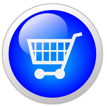 Shopping Cart Icon Button photo