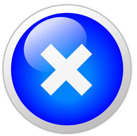 multiplicar: Botón del icono de la Cruz