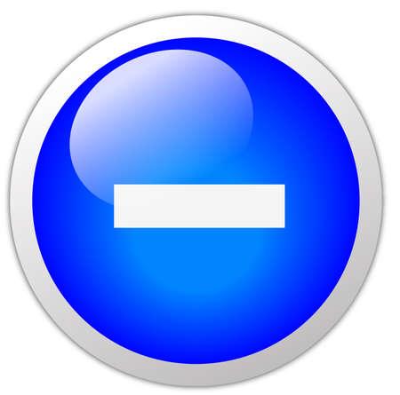 subtraction: Minus Icon Button