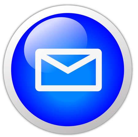 glans: Mail Ikon Knapp