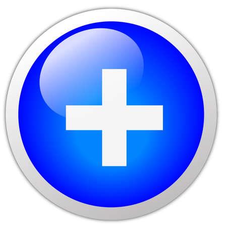 Plus Icon Button photo