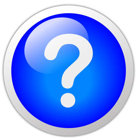 Question Mark Icon Button photo