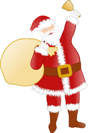 Happy Santa Stock Photo - 13914944
