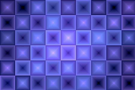 Dark Blue Purple Tiles Abstract Background