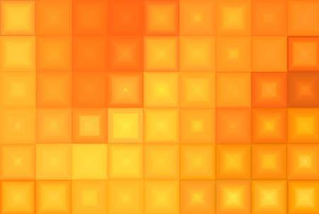 Orange Tiles Abstract Background photo