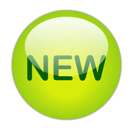 Glassy Green New Button photo
