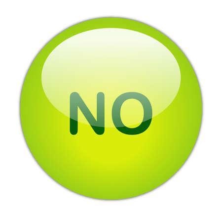 Glassy Green No Button Stock Photo - 14864157