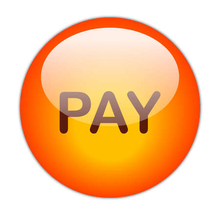Glassy Red Pay Button