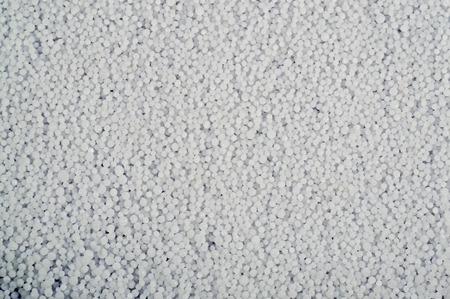 Mineral fertilizers balls - carbamide (urea). Background