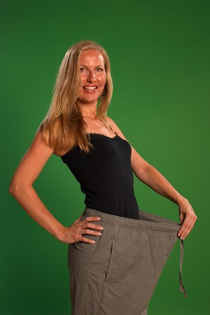 Happy after losing a significant amount of weight Stock Photo - 7590905