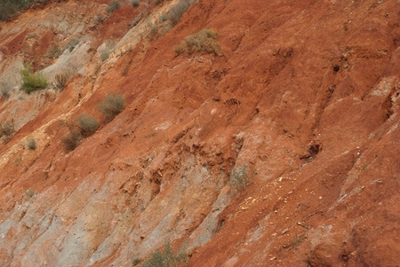 deforested: The disastrous effects of erosion on deforested soil