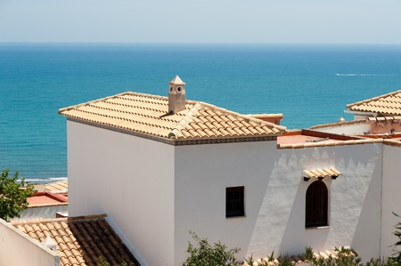 Tiled roofs with a spectacular ocean view