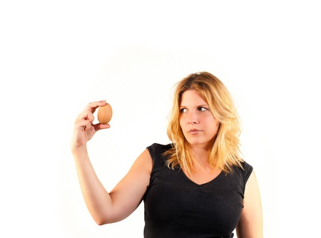 The nub of the matter or the Columbus egg Stock Photo - 10477102