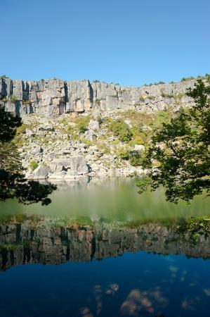 laguna: Scenic  high altitude Laguna Negra, Soria, Spain