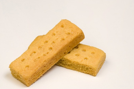 Shortbread, a traditional Scottish biscuit