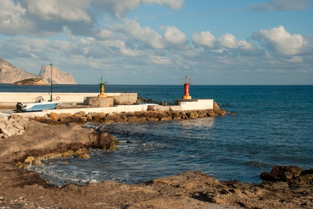 altea: Small port on the Mediterranean, Altea, Spain