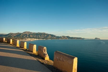 Altea bay as seen from a scenic mountain road Stock Photo - 12367389