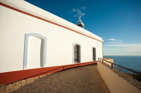albir: Scenic lighthouse on top of Sierra Helada, Albir, Costa Blanca, Spain