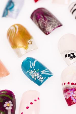 laquered: Una variazione delle unghie in acrilico con disegni creativi