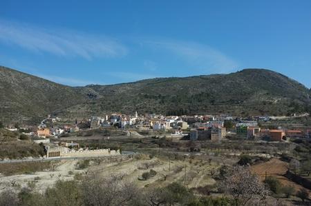 costa blanca: Scenic mountain village inland Costa Blanca, Spain