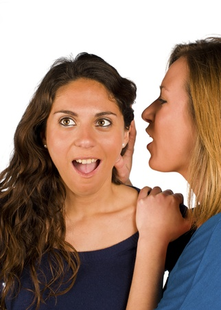 An update on the latest, freshest gossip Stock Photo - 12884931